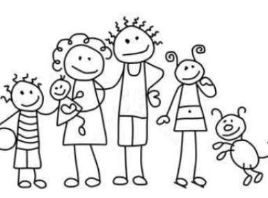 auksano stick figure family clip art rh auksano org Stick Figure Family of 5 stick family clipart free